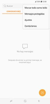 Samsung Galaxy S8 Plus - Mensajería - Configurar el equipo para mensajes de texto - Paso 5