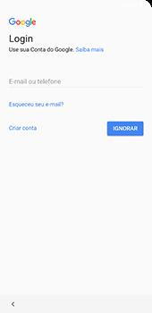 Samsung Galaxy S9 Plus - Primeiros passos - Como ativar seu aparelho - Etapa 12