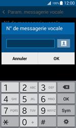 Samsung G318H Galaxy Trend 2 Lite - Messagerie vocale - configuration manuelle - Étape 8