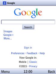 Samsung B550H Xcover 550 - Internet - Internet browsing - Step 8