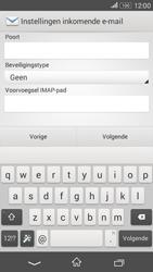 Sony E2003 Xperia E4 G - E-mail - Handmatig instellen - Stap 9