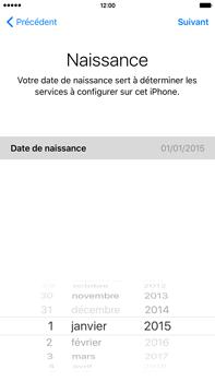 Apple iPhone 6s Plus - Premiers pas - Créer un compte - Étape 18