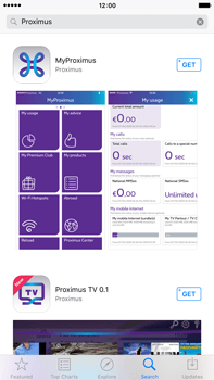 Apple iPhone 6s Plus - Applications - MyProximus - Step 6