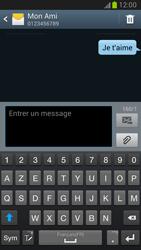 Samsung Galaxy Note 2 - Contact, Appels, SMS/MMS - Envoyer un SMS - Étape 11