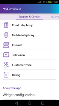 Huawei Mate S - Applications - MyProximus - Step 21