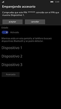Microsoft Lumia 950 XL - Bluetooth - Conectar dispositivos a través de Bluetooth - Paso 8