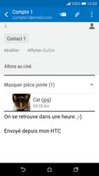 HTC Desire 626 - E-mails - Envoyer un e-mail - Étape 18