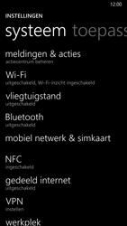Nokia Lumia 930 4G (Type RM-1045) - Internet - Uitzetten - Stap 4