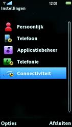 Sony Ericsson U5i Vivaz - Buitenland - Bellen, sms en internet - Stap 4