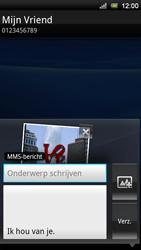 Sony Ericsson Xperia Neo V - MMS - afbeeldingen verzenden - Stap 13