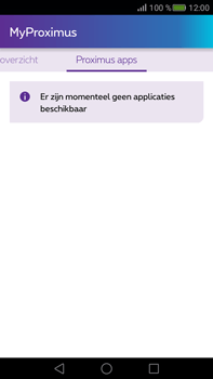Huawei Mate S - Applicaties - MyProximus - Stap 23