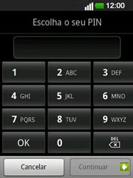 LG E400 - Segurança - Como ativar o código de bloqueio do ecrã -  7
