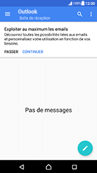 Sony Xperia XA (F3111) - Android Nougat - E-mail - Configuration manuelle (outlook) - Étape 5