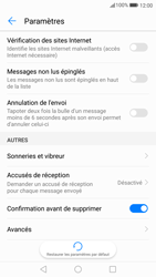 Huawei P10 - SMS - configuration manuelle - Étape 6