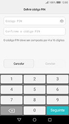 Huawei Y6 (2017) - Segurança - Como ativar o código de bloqueio do ecrã -  6
