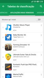 Samsung Galaxy S6 Edge - Android Nougat - Aplicações - Como pesquisar e instalar aplicações -  11