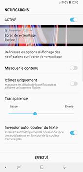 Samsung Galaxy Note 9 - Sécuriser votre mobile - Activer le code de verrouillage - Étape 11