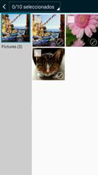 Samsung A500FU Galaxy A5 - Mensajería - Escribir y enviar un mensaje multimedia - Paso 21