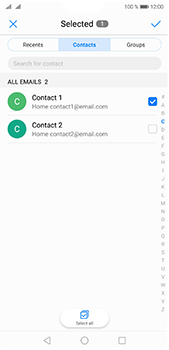 Huawei P20 Pro - Email - Sending an email message - Step 6