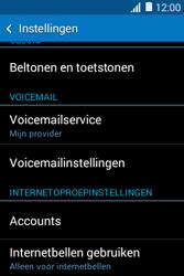 Samsung Galaxy Young2 (SM-G130HN) - Voicemail - Handmatig instellen - Stap 5