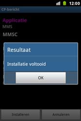 Samsung S5830i Galaxy Ace i - MMS - automatisch instellen - Stap 9
