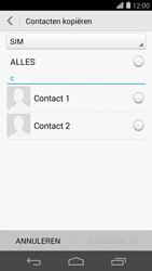 Huawei Ascend P7 4G (Model P7-L10) - Contacten en data - Contacten kopiëren van SIM naar toestel - Stap 8