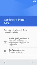 Motorola Moto C Plus - Primeiros passos - Como ligar o telemóvel pela primeira vez -  6