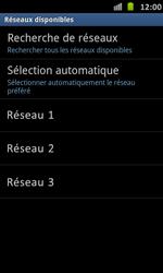 Samsung I9070 Galaxy S Advance - Réseau - utilisation à l'étranger - Étape 11