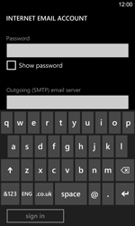 Nokia Lumia 925 - E-mail - Manual configuration - Step 14