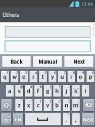 LG E430 Optimus L3 II - Email - Manual configuration POP3 with SMTP verification - Step 7