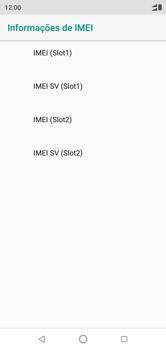 Motorola One - Primeiros passos - Como encontrar o número de IMEI do seu aparelho - Etapa 7