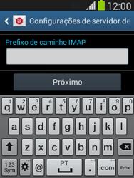 Samsung S5310B Galaxy Pocket Neo - Email - Como configurar seu celular para receber e enviar e-mails - Etapa 12
