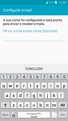 Samsung Galaxy S4 LTE - Email - Adicionar conta de email -  10