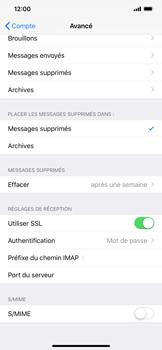 Apple iPhone XR - E-mail - Configuration manuelle - Étape 25