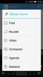 Alcatel OneTouch PIXI 3 (4.5) 3G (OT-4027X) - E-mail - Hoe te versturen - Stap 12