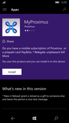 Microsoft Lumia 950 - Applications - MyProximus - Step 9