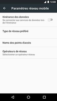 Motorola Moto E4 Plus - Aller plus loin - Désactiver les données à l'étranger - Étape 7
