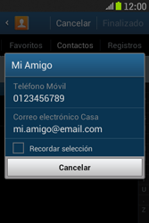 Samsung S6310 Galaxy Young - Mensajería - Escribir y enviar un mensaje multimedia - Paso 7