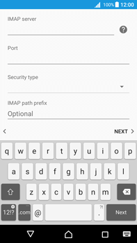 Sony Xperia Z5 Premium (E6853) - Android Nougat - E-mail - Manual configuration - Step 15