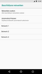 LG Nexus 5X - Android Oreo - Netwerk - Handmatig een netwerk selecteren - Stap 9