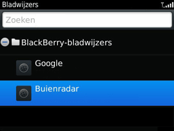 BlackBerry 9360 Curve - Internet - hoe te internetten - Stap 9
