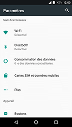 Crosscall Action X3 - Internet et connexion - Accéder au réseau Wi-Fi - Étape 4