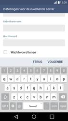 LG K10 4G - E-mail - Account instellen (IMAP met SMTP-verificatie) - Stap 11
