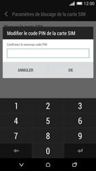 HTC Desire 820 - Sécuriser votre mobile - Personnaliser le code PIN de votre carte SIM - Étape 9