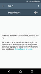 Sony Xperia X Dual SIM (F5122) - Wi-Fi - Ligar a uma rede Wi-Fi -  5