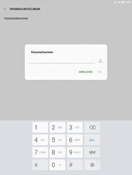 Samsung Galaxy Tab S2 9.7 - Android Nougat - Voicemail - Handmatig instellen - Stap 8