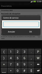 HTC S728e One X Plus - SMS - configuration manuelle - Étape 6