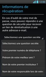 LG Optimus L5 II - Premiers pas - Créer un compte - Étape 16