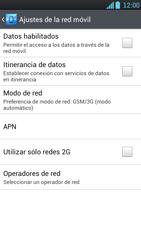 LG Optimus L9 - Red - Seleccionar el tipo de red - Paso 6