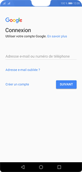 Huawei P20 - Applications - Créer un compte - Étape 3